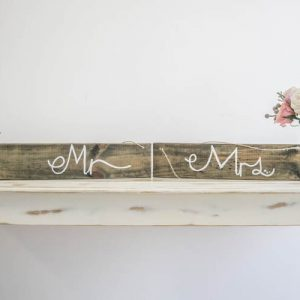 $15 Mr & Mrs Sign
