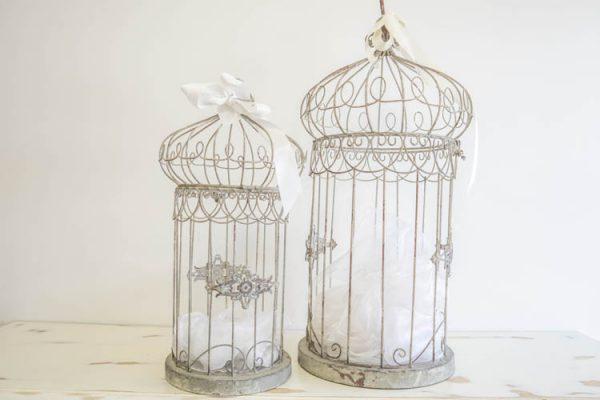 $15 Small Birdcage $20 Large Birdcage OR 2 for $30