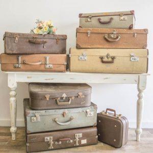 Vintage Suitcases $15 each