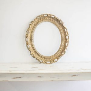$20 Gold Hollow Frame