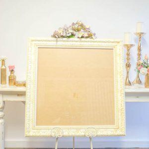 $20 Large Ivory Detailed Frame
