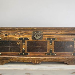 $20 Wooden Treasure Chest