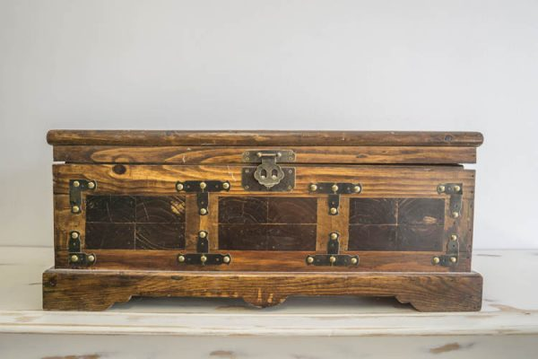 $20 Wooden Treasure Chest