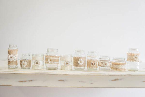 $3 Decorated Vintage Jars