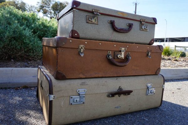 $30 Set of 3 Vintage Suitcases