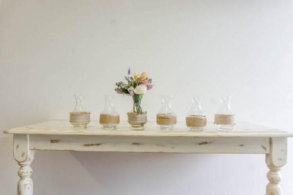 $5 Hessian decorated vases