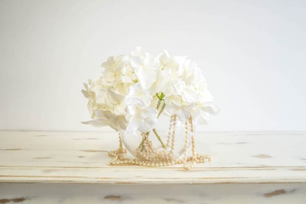 Add Pearls per vase From $5